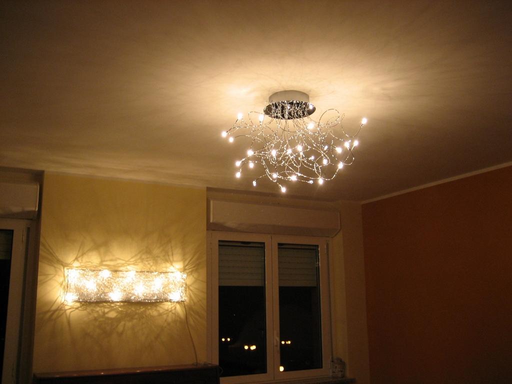 Applique e lampadario soggiorno savona lombardi lampadari
