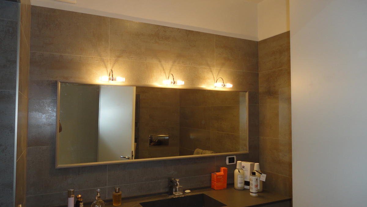 Applique specchio bagno lombardi lampadari
