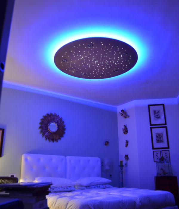 cielo stellato camera letto