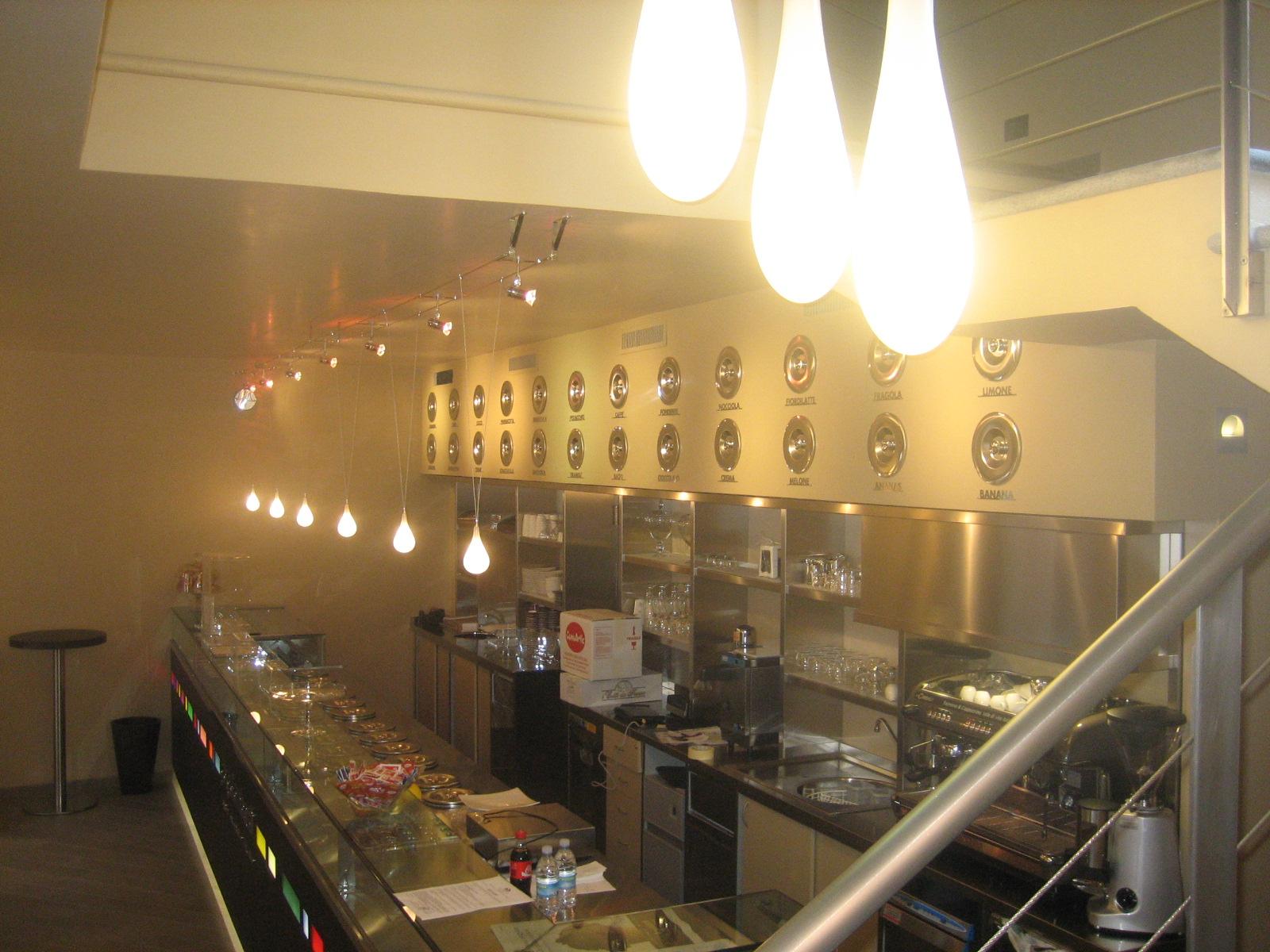 Illuminazione bar novi ligure lombardi lampadari
