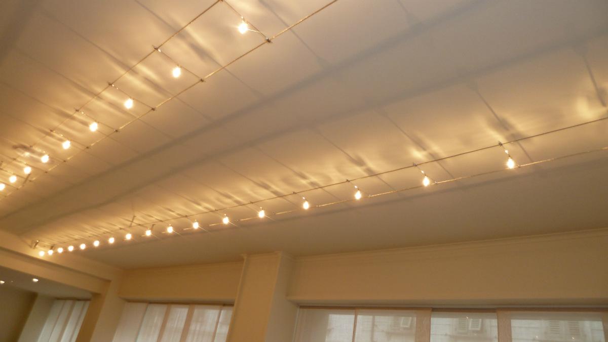 Illuminazione tesata v illuminazione professionale a led linea
