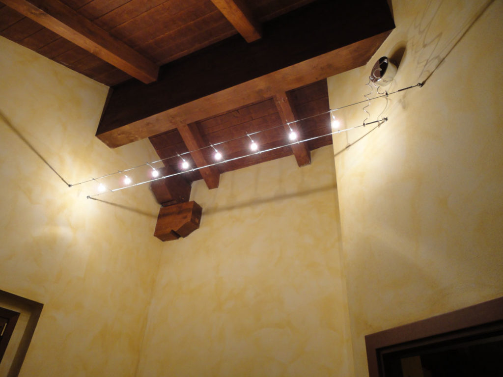 Illuminazione Con Tesate : Ambientazioni tesate lombardi lampadari