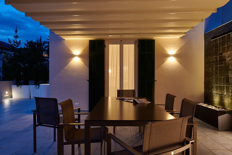 Applique esterno biemissione balcone lombardi lampadari